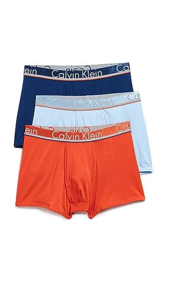 Calvin Klein Underwear Comfort Microfiber 3 Pack Trunks