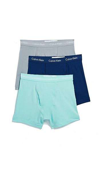 Calvin Klein Underwear Cotton Stretch Boxer Briefs