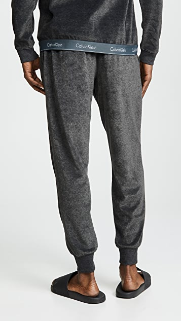Calvin Klein Underwear Modern Cotton Stretch Velour Jogger Pants