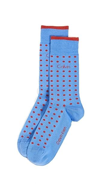 Calvin Klein Underwear Dot Crew Socks