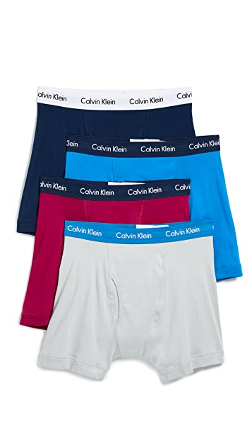 Calvin Klein Underwear Cotton Classics 4 Pack Boxer Briefs
