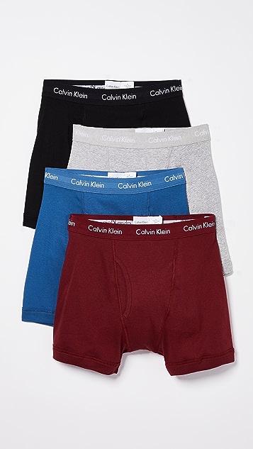 Calvin Klein Underwear Cotton Classics 4 Pack Boxer Briefs