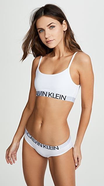 0d10059ba049 Calvin Klein Underwear Statement 1981 Unlined Bralette | SHOPBOP