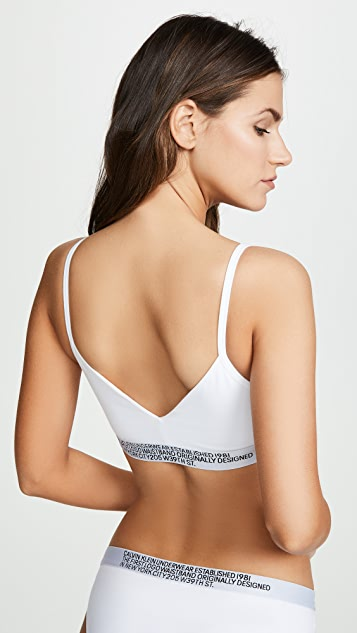 Calvin Klein Underwear Statement 1981 Unlined Bralette