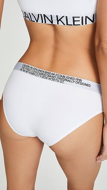 Calvin Klein Underwear Бикини Statement 1981