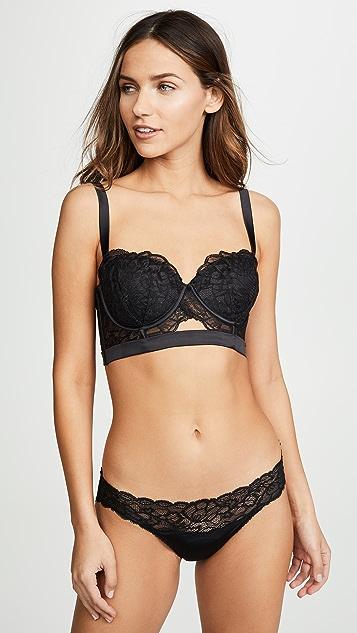 Calvin Klein Underwear CK Black Fan Floral Bra