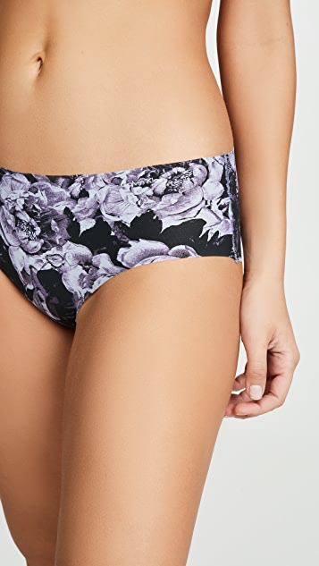 Calvin Klein Underwear Printed Invisible Hipster Panties