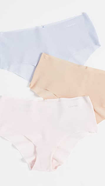 Calvin Klein Underwear Invisible 3 Pack Hipsters