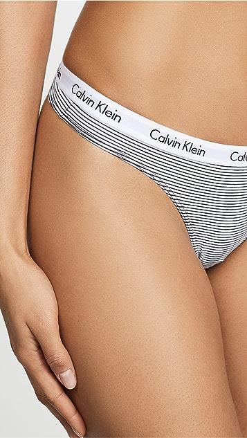 Calvin Klein Underwear Carousel 3 Pack Thongs