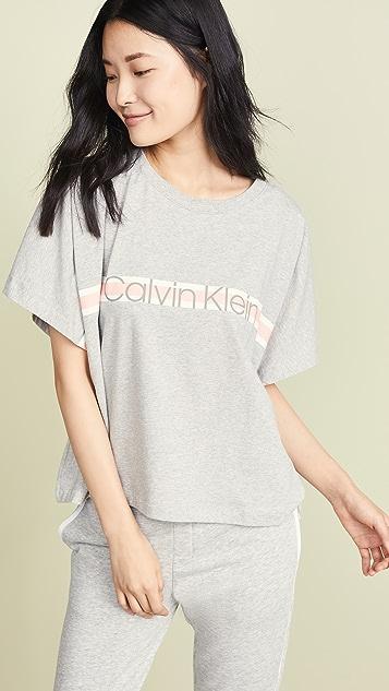 Calvin Klein Underwear Пижамный топ Calvin Klein