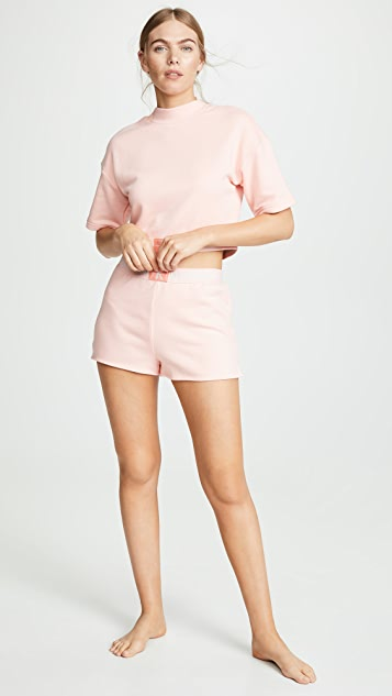 Calvin Klein Underwear Пижамный топ с монограммами