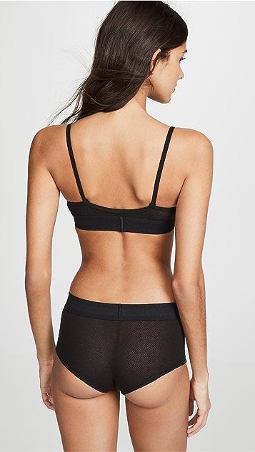 Calvin Klein Underwear Monogram Mesh Bralette
