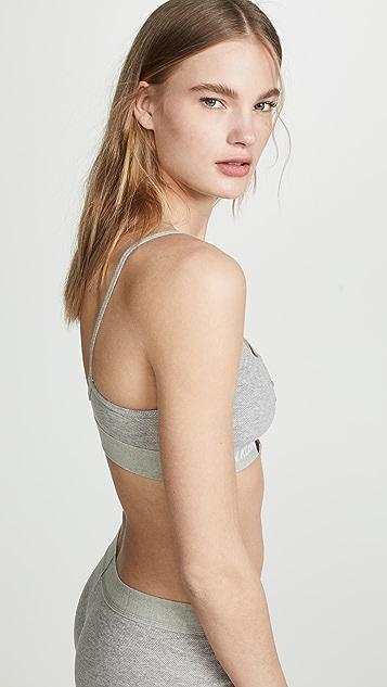 628cb2062872d ... Calvin Klein Underwear Monogram Mesh Unlined Bralette ...