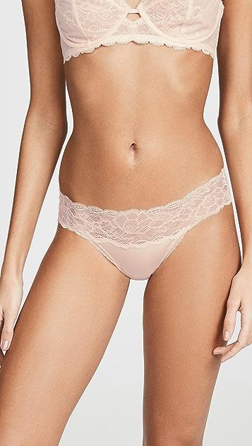 Calvin Klein Underwear Бикини Seductive Comfort с кружевом