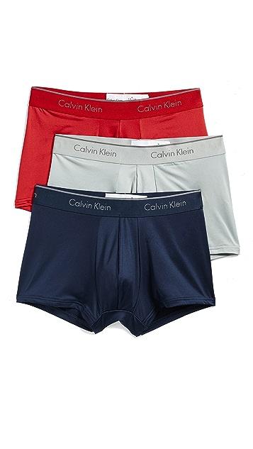 Calvin Klein Underwear Micro Stretch 3-Pack Low Rise Trunk