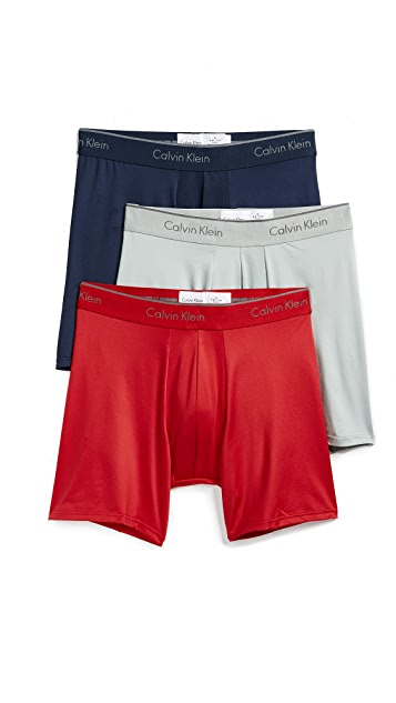 Calvin Klein Underwear Micro Stretch 3-Pack Boxer Briefs
