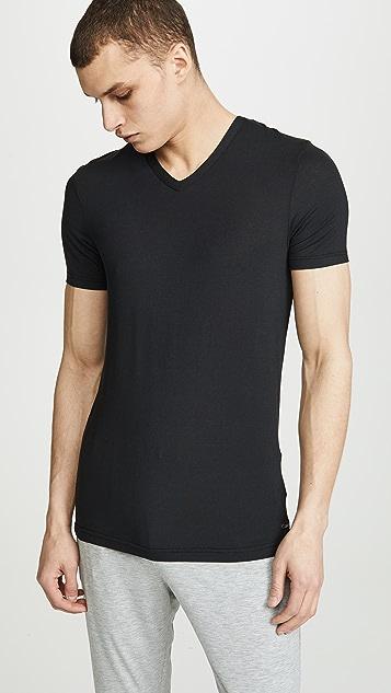 Calvin Klein Underwear Ultra Soft Modal Short Sleeve V Neck T-Shirt