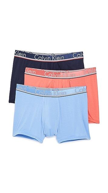 Calvin Klein Underwear 3 Pack Comfort Micro Low Rise Trunks