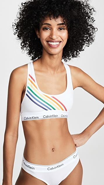 Calvin Klein Underwear The Pride Edit 无衬里文胸
