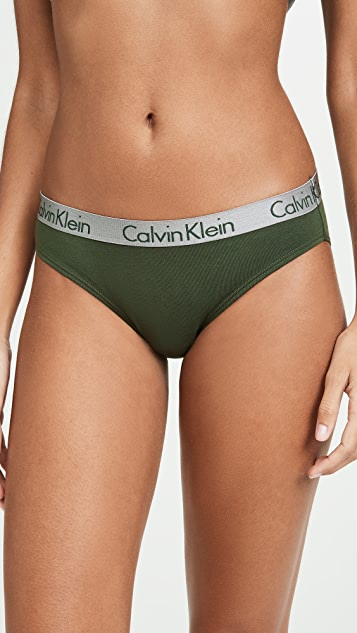 Calvin Klein Underwear Хлопковые трусики-бикини Radiant