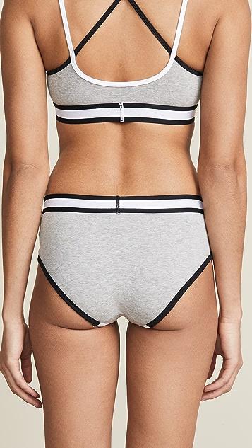 Calvin Klein Underwear Трусики с низкой талией в стиле ретро