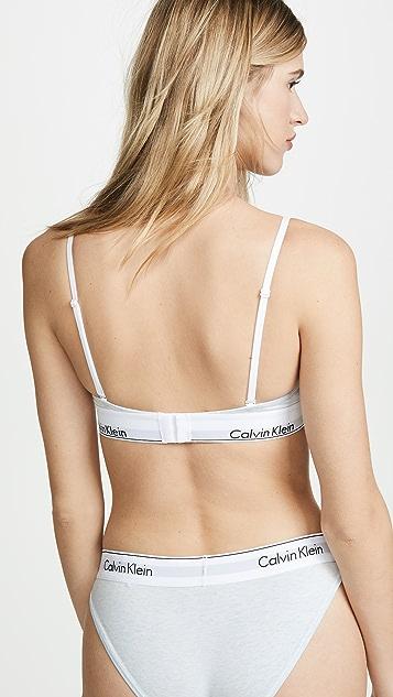 Calvin Klein Underwear Modern Cotton Triangle Bralette