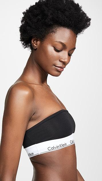 Calvin Klein Underwear Modern Cotton Unlined Bandeau Bra