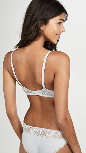 Calvin Klein Underwear Perfectly Perennial Lightly Lined Plunge Bra