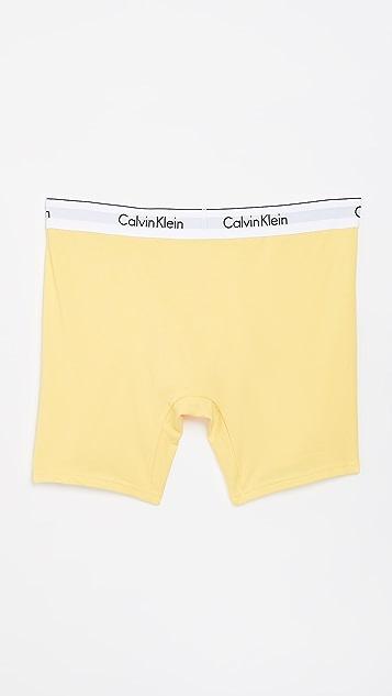 Calvin Klein Underwear 2 Pack Modern Cotton Stretch Boxer Briefs