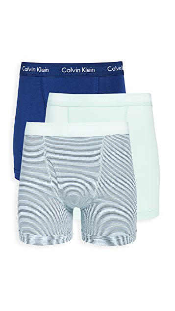 Calvin Klein Underwear Cotton Stretch 3 Pack Boxer Briefs