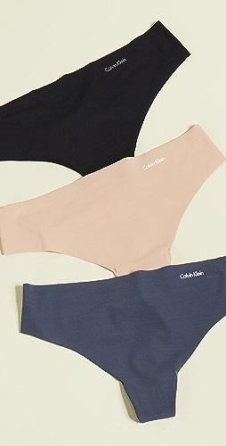 Calvin Klein Underwear - Invisibles Thong 3 Pack