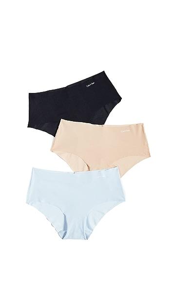 Calvin Klein Underwear Invisibles Hipster 3-Pack