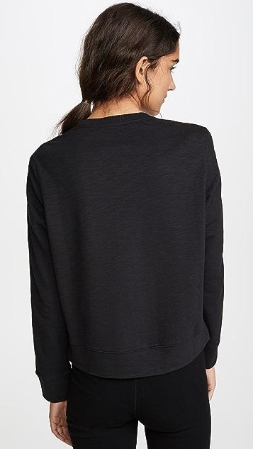 Calvin Klein Underwear 1981 Bold Lounge Long Sleeve Sweatshirt