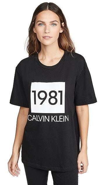 Calvin Klein Underwear Футболка 1981 Bold Lounge