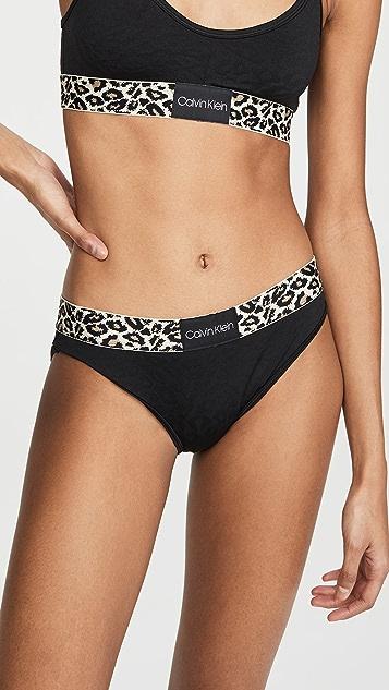 Calvin Klein Underwear Трусики-бикини Animal Micro