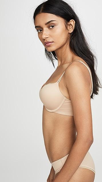 Calvin Klein Underwear Liquid Touch Push Up Plunge Bra