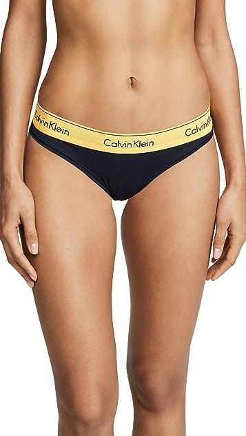 Calvin Klein Underwear Современные хлопковые трусики-бикини