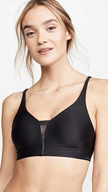 Calvin Klein Underwear Invisibles Wirefree Triangle Bra