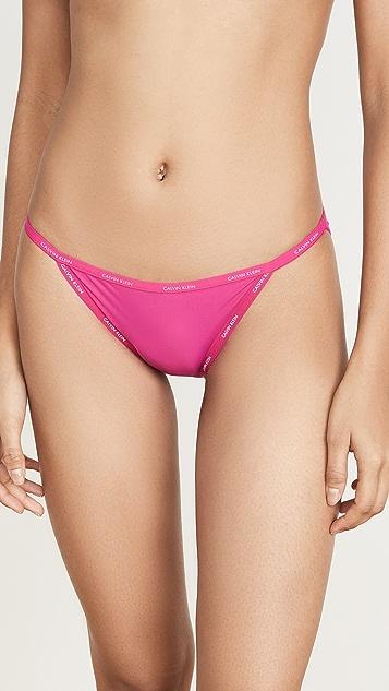 Calvin Klein Underwear Sheer Marquisette 比基尼