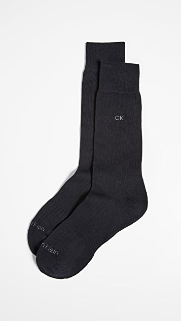 Calvin Klein Underwear Ultra Fit Cushioned Sole Socks