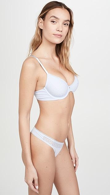 Calvin Klein Underwear 性感舒适无衬里半罩杯文胸