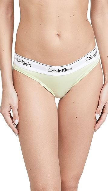 Calvin Klein Underwear 时尚棉质比基尼