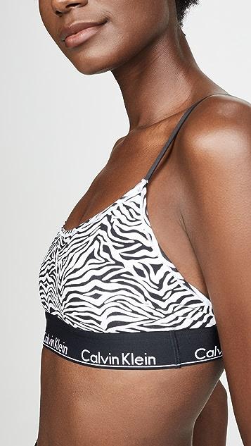 Calvin Klein 钢托文胸 露背休闲文胸