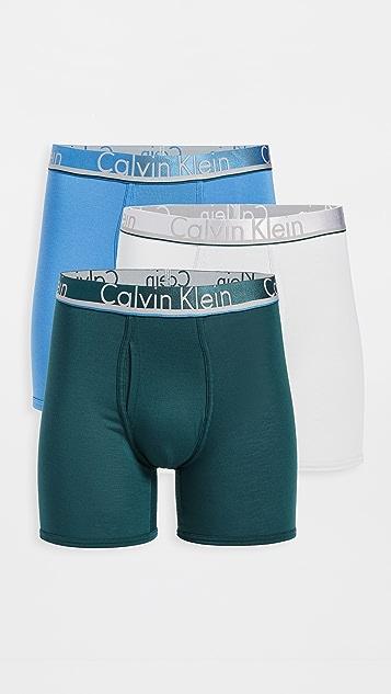 Calvin Klein Underwear Comfort Micro 3 Pack Boxer Briefs