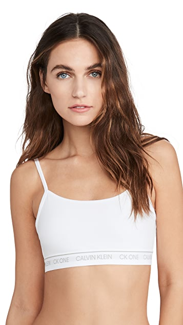 Calvin Klein Underwear One Cotton Unlined Bralette