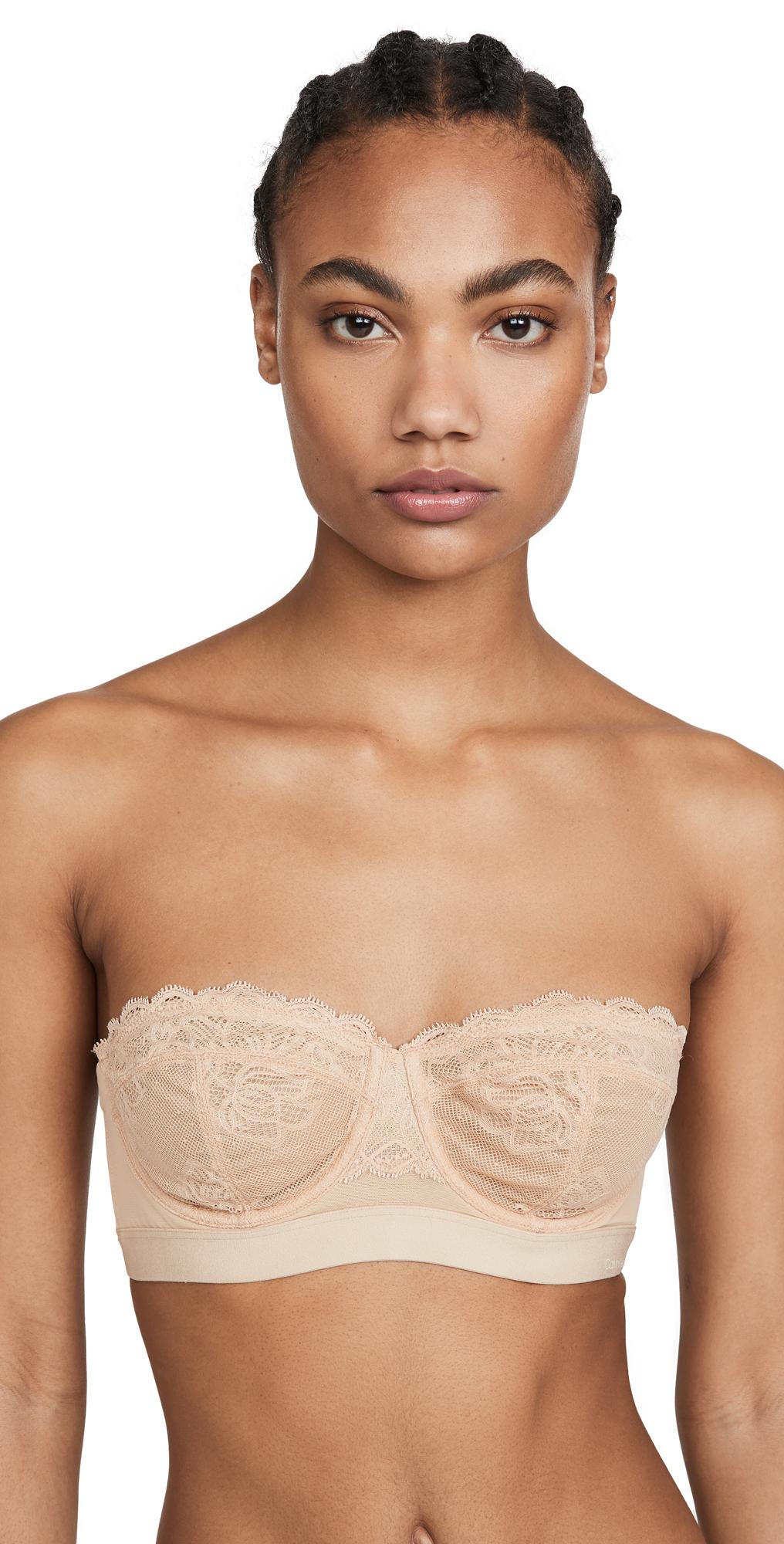 Calvin Klein Underwear Seductive Comfort Convertible Lace Padded Bra