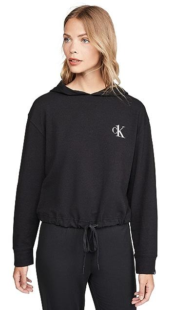Calvin Klein Underwear 毛圈布连帽上衣