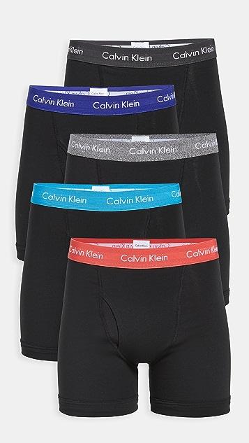 Calvin Klein Underwear 5 Pack Boxer Briefs