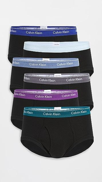 Calvin Klein Underwear Cotton Classics 6 Pack Briefs