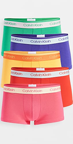Calvin Klein Underwear - Low Rise Pride Edit Cotton Stretch 5 Pack